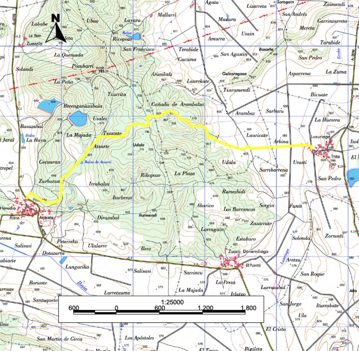 El Camino Real de Postas al Reino de Francia