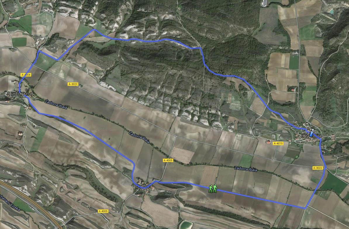 Nordic Walking RUTA ETXABARRI-URTUPIÑA / AUDIKANA